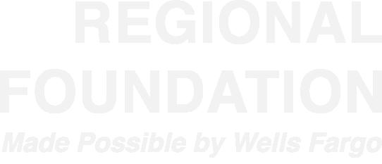 Regional Foundation Made Possible By Wells Fargo Logo